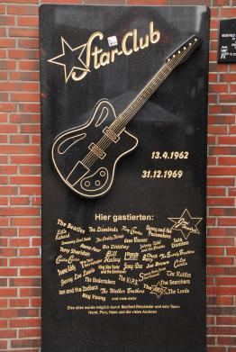 Beatlesplatz Hamburg St. Pauli