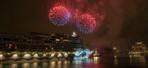 Feuerwerk Hamburger Hafengeburtstag