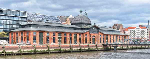 Gebäude Fischauktionshalle Hamburg