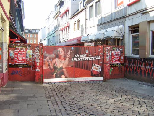 Reeperbahn in St. Pauli