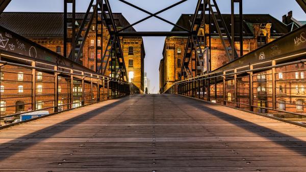 Speicherstadt Hamburger Hafen